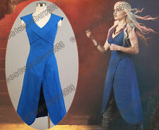A Song of Ice and Fire Game of Thrones Daenerys Targaryen Linen Dress Cosplay