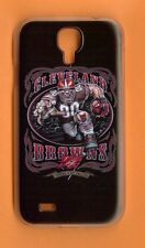 CLEVELAND BROWNS Rigid 1 Piece Case / Cover Samsung GALAXY S4 (Design 3)+ Stylus