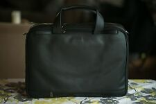 Hartmann Luggage Black Leather Expandable Brief Style #5142 with Mark