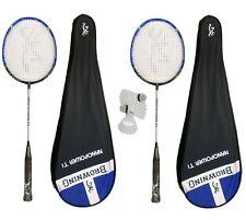 2 x Browning Nanopower Ti Badminton Racket + 3 Shuttles RRP £290