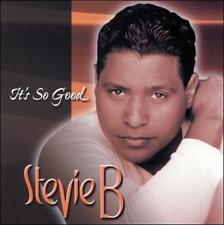 Stevie B: It's So Good  Audio CD