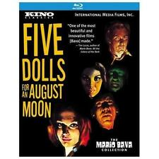 5 Dolls for an August Moon KINO BLU-RAY Mario Bava *FLAWLESS CONDITION*