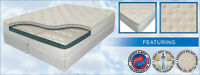 """CAL KING 10"""" INNOMAX® HARMONY FIRM SLEEP AIR BED MATTRESS-DUAL 50 NUMBER REMOTES"""
