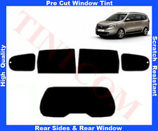 Pre-Cut Window Tint Dacia Lodgy 5D 2012-... Rear Window & Rear Sides Any Shade