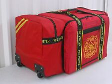 Extra Large Firefighter Turnout Accessory Bag with Wheels