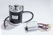 500 W 24V DC electric motor 1020 kit w base control box f scooter gokart or DIY