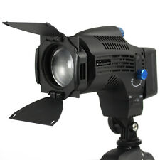 Nanguang CN-8F On Camera Daylight Fresnel 8w LED Light - Adjustable 10-60° Beam