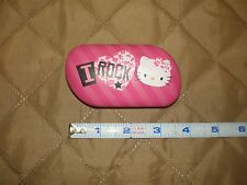 GUC - Hello Kitty Contacts Lens Case Carrier with Mirror - Super Cute