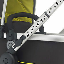 36X STARS pram vinyl. Buggy sticker pushchair transfer. CUSTOM COLOUR