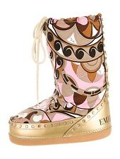 Authentic Emilio Pucci Snow Ski Boots Size 41-43 41 42 43 11 12 13