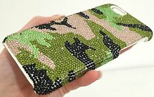 Army Military Bling Swarovski Element & Crystal Back Case Cover Skin iPhone 5/5S
