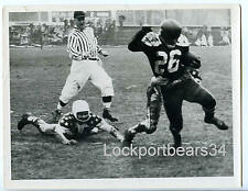 "1955 Pat Abbruzzi 1st Ever CFL All Star Game 8.5 x 6.5"" Original Press Photo"