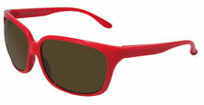 350$ New VUARNET FRANCE VL1022 Large Oversized Red Sunglasses Px2000 brown lens