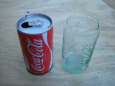 Vintage Coca~Cola Can (1975) plus Free Glass
