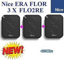 3 X Nice FLO2RE, 3pc's of Nice FLO2RE 2-ch remote controls,New version of FLOR-S