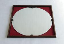 Specchio con cornice quadrata anni '60, vintage, mirror, miroir, modernariato