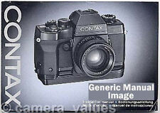 Contax TLA20 Flash Instruction Book More Manuals Listed