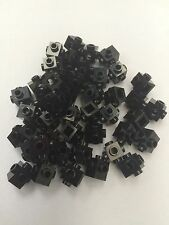 Missing Lego Brick id 4733 20x black 1x1 with 4 side stud lego city star wars