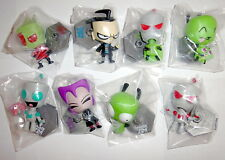 New Invader Zim Bobble Heads Complete Set Of 8 Series 1