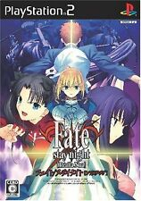 USED Fate/stay Night [Realta Nua] japan import PS2