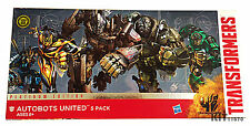 Transformers Platinum Autobots United Optimus Hound Drift Bumblebee Crosshairs