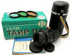 !!NEW!! 20-Blades TAIR-11A 2.8/135 Russian Soviet USSR Telephoto Lens M42 Mount