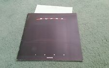1988 TOYOTA SUPRA / SUPRA TURBO / SPORT ROOF - LARGE USA 20 PAGE BROCHURE