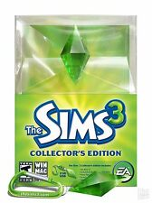 (NEW SEALED) THE SIMS 3 COLLECTORS EDITION WINDOWS MAC PC VIDEO GAMES 2GB USB