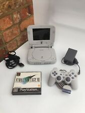Sony PsOne ps1 console & Logic 3 screen - Fully Working With Final Fantasy 7