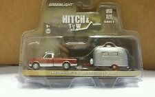 2016 GREENLIGHT HITCH AND TOW 1968 Chevrolet C-10 and Airstream 16' Bambi Sport