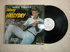 "LP JOHNNY HALLYDAY ""Douce violence"" PHILIPS 836584-1 CLUB DIAL µ"