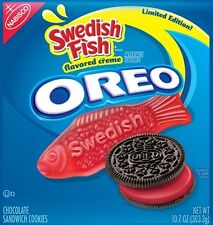 OREO SWEDISH FISH ~ New Nabisco Limited Edition Cookie