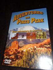 DVD ADVENTURE ON PIKES PEAK Mountain Snowboard Climb Rock Waterfall & Wildflower