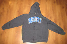 Boy's Kentucky Wildcats Majestic Section 101 Hooded Jacket Large