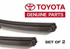 TOYOTA OEM Factory 2009-13 COROLLA Rubber Wiper Blade Insert Refill Pair
