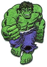 THE INCREDIBLE HULK running EMBROIDERED IRON-ON PATCH Free Shipping pmvl3 marvel