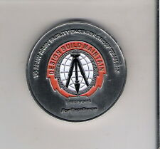 CHALLENGE COIN US ARMY FACILITY ENGINEER GROUP ESSAYONS TROPIC LIGHTNING AFGHANI