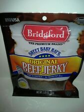 Bridgeford beef jerky sweet baby ray's (original)