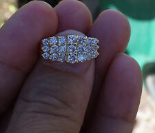 1.50ct Diamond H/Si right-hand or wedding band 14k WG