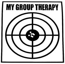 Group Therapy Decal - Window Sticker Car Quad Hunting Gun Outdoor Vinyl Decal
