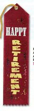 "Retirement Party-Retirement Award Ribbon-2"" x 8""-New-Combine for Free Shipping"