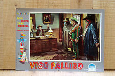 VISO PALLIDO fotobusta poster Bob Hope Jane Russell The Paleface Western 1948