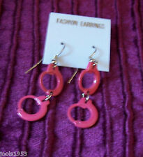 Sexy Pink handcuff earrings - 50 Shades, Fetish, Fun, Kinky