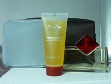 ZANZIBAR Van Cleef & Arpels for men 100 ml NEW + NECESSER + ALL OVER BODY SHAMPO