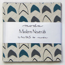 """Modern Neutrals by Amy Ellis for Moda  - fabric Charm Pack - 5"""" squares"""