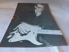 BUDDY HOLLY !!!!!!!!!VINTAGE - Mini poster Noir & blanc  !!!