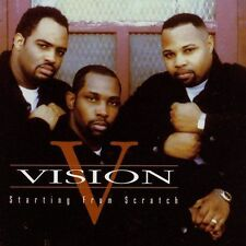 FREE US SH (int'l sh=$0-$3) NEW CD Vision: Starting From Scratch