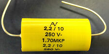 Arcotronics MKP 1.70 2.2uF 250V 85°C Axial Capacitor