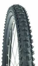 "NEW MTB TYRE 26"" x 1.95 BLOCK TREAD - MOUNTAIN BIKE BICYCLE XC CYCLE TIRE"