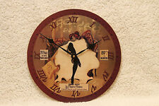 Can Can Dancer Clock